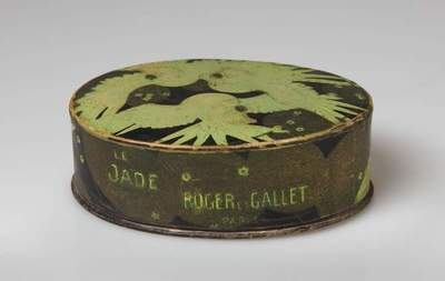 Image from object titled LE JADE ROGER ET GALLET  PARIS: kutija za puder
