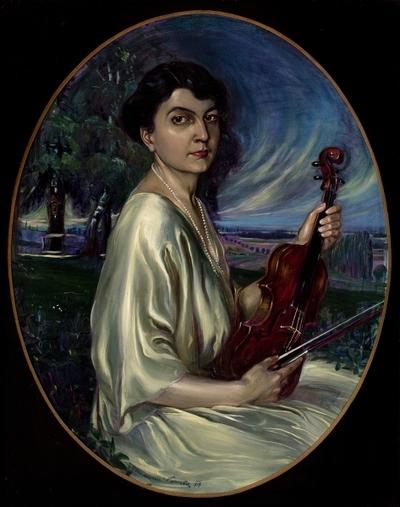 Portret Dore Pejačević: slika