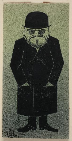 Karikatura Dušana Mangjera: crtež