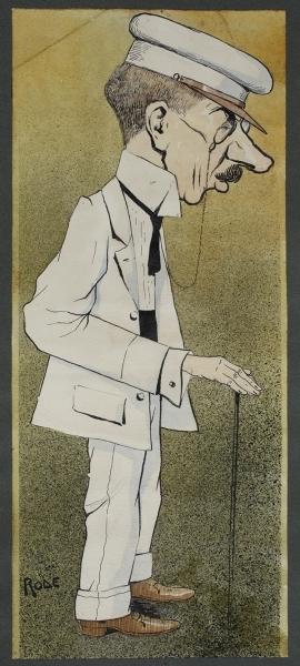 Iz glazbenog svijeta (Karikatura Srećka Albinija): crtež