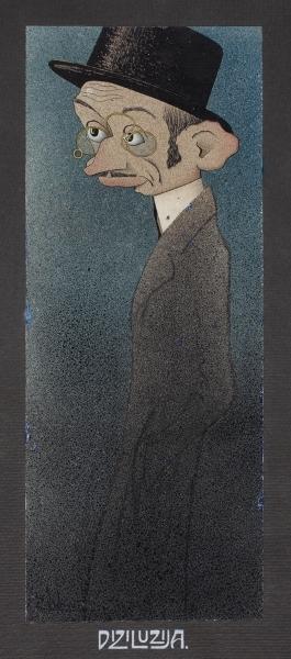 Iz Splita (Karikatura Marina Bege / Diziluzija): crtež