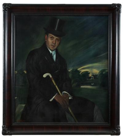 Portret Gustla Franka: slika