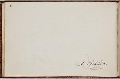 Albuminscriptie / van [Johannes Schultz (1776-1838)?] voor Jacobus Kantelaar (1759-1821), predikant en letterkundige
