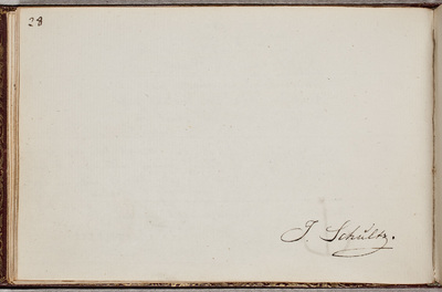 Image from object titled Albuminscriptie / van [Johannes Schultz (1776-1838)?] voor Jacobus Kantelaar (1759-1821), predikant en letterkundige