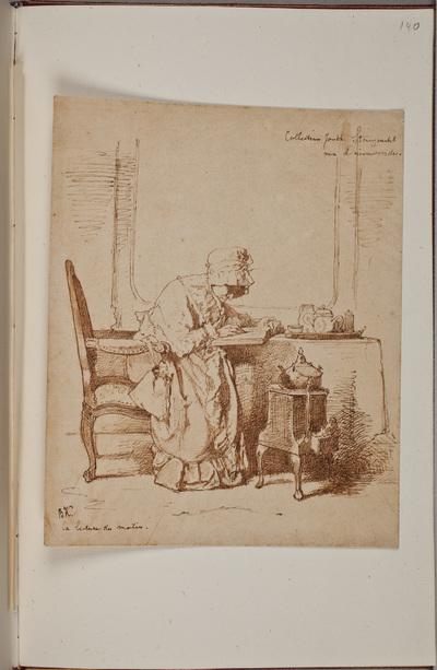 Illustratie / van Alexander Hugo Bakker Korf (1824-1882), kunstenaar, voor het autografenalbum van Rudolf Hugo Driessen (1873-1946) en Caroline Driessen-Kleyn (1883-1938)