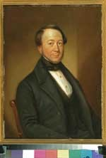 Portret van Johan Carel Willem Fabricius van Leyenburg