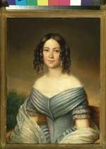 Portret van Adriana Wilhelmina Clara Hooft