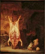 Image from object titled The Slaughtered Pig