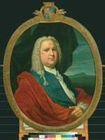 Portret van Mr. Willem Fabricius