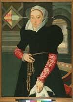 Portret van Margareta Deyman