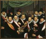 Maaltijd van officieren en onderofficieren van de St. Jorisdoelen