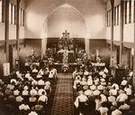 Inwijding van de nieuwe rooms-katholieke...