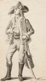 Dirk Thijsman, Huzaar in het com Huezare van den Rijngraaf van Zalm, 1786 te Utrecht