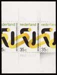 Schetsontwerp voor postzegels Nederland 1973 Ontwikkelingssamenwerking