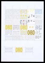 Voorstudie voor postzegels Nederland 1997 Algemene Rekenkamer