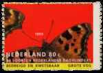 Postzegel Nederland 1993, Natuur en Milieu, Grote vos