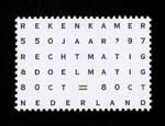Postzegel Nederland 1997  Algemene Rekenkamer
