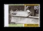 Postzegel Nederland 2001 Tussen twee culturen, Cas Oorthuys