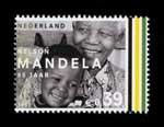 Postzegel Nederland 2003 Nelson Mandela: Mandela met kind