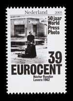 Postzegel Nederland 2005 50 jaar World Press Photo: Héctor Rondón Lovera, 1962, Venezuela