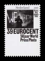 Postzegel Nederland 2005 50 jaar World Press Photo: Hans-Jörg Anders, 1969, Duitsland