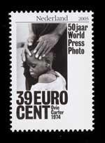 Postzegel Nederland 2005 50 jaar World Press Photo: Ovie Carter, 1974, USA
