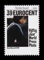 Postzegel Nederland 2005 50 jaar World Press Photo: David Burnett, 1979, USA