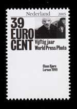 Postzegel Nederland 2005 50 jaar World Press Photo: Claus Bjørn Larsen, 1999, Denemarken