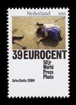 Postzegel Nederland 2005 50 jaar World Press Photo: Arko Datta, 2004, India