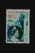 Postzegel Nederland 1931 Koningin Wilhelmina en schepen