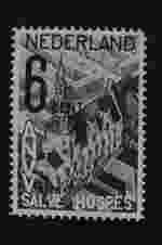 Postzegel Nederland 1932, Vreemdelingen, Raadhuis te Zierikzee en nieuwbouw te Amsterdam-Zuid