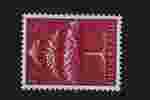 Postzegel Nederland 1943, Germaanse symbolen, Driekronenboom