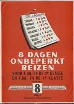 Image from object titled 8 Dagen onbeperkt reizen