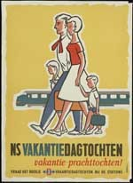 Image from object titled NS vakantiedagtochten, vakantie-prachttochten!