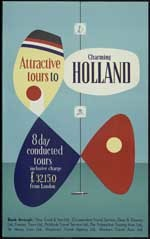 Attractive tours to charming Holland, 8 days conducted tours ... from London
