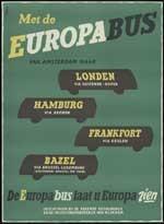 Met de Europabus van Amsterdam naar...