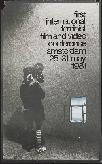 Image from object titled First international feminist film and video conference Amsterdam