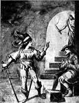 Gerard van Velsen bezoekt Floris V in de kerker