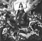 Allegorie van Justitia met de Doodzonden