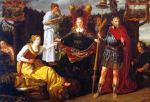 Allegorie op de voorspoed van de Republiek onder Maurits van Oranje