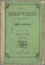 Image from object titled De Dierenwereld in rijmpjes voor jonge kinderen