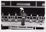Foto van Ed van der Elsken, voorstellende een Kabuki-voorstelling