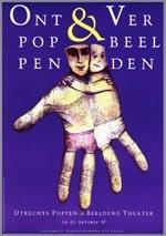 Affiche voor het festival Ontpoppen & Verbeelden van 16 t/m 25 oktober 1987 in Utrecht