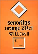 Senoritas oranje 20 ct Willem II