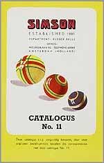 Simson Catalogus No. 11