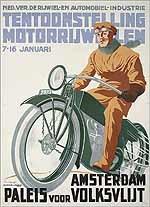 Tentoonstelling motorrijwielen