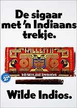 De sigaar met 'n indiaans trekje 10 stuks 2.45 Wilde Indios