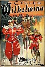 Wilhelmina Cycle & Co. Ltd. Zeist-Holland.