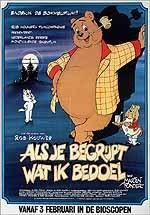 Eindelijk de Bommelfilm! Rob houwer's filmcompagniepresenteert: Nederlands eerste avondvullende tekenfilm.(...) Als je begrijpt wat ik bedoel van: Marten Toonder(...) vanaf 3 februari in de bioscopen.