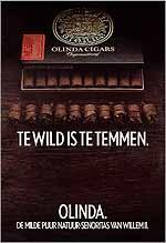 Te Wild om te temmen. Olinda. De milde puur natuur - senoritas van Willem II.